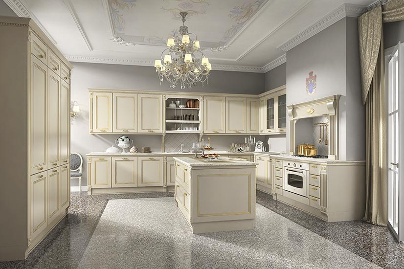 Μοντέρνες κλασικές κουζίνες Systema di Cucina