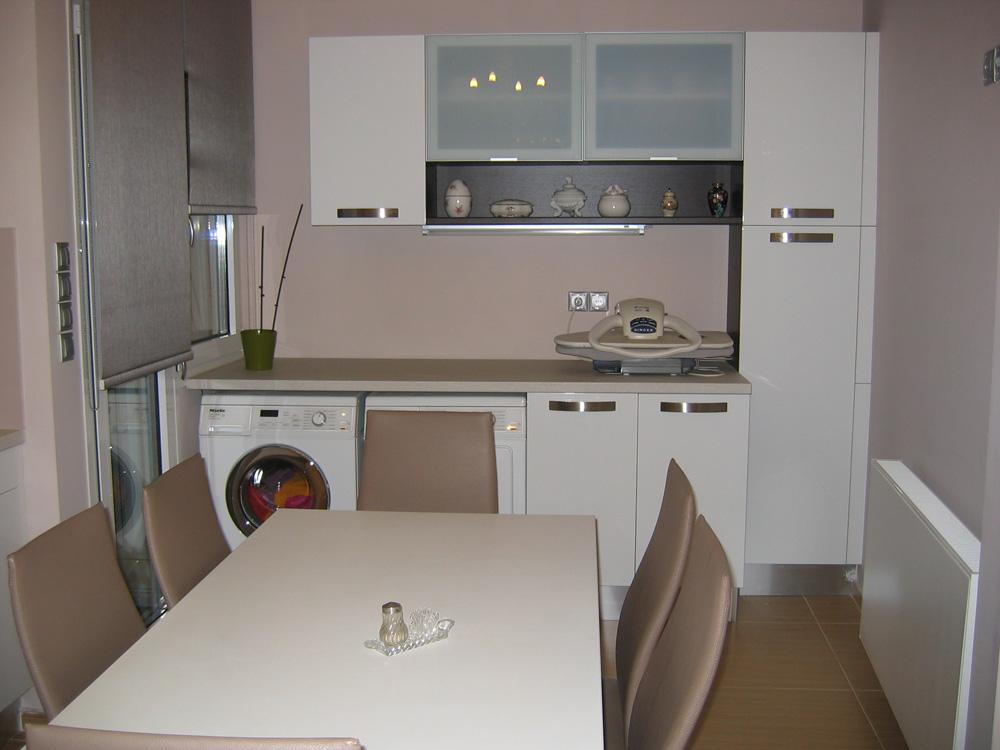 Ολικη ανακαινιση κουζινας στο Ψυχικο Systema di Cucina