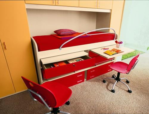 Παιδικά γραφεία κουκέτας