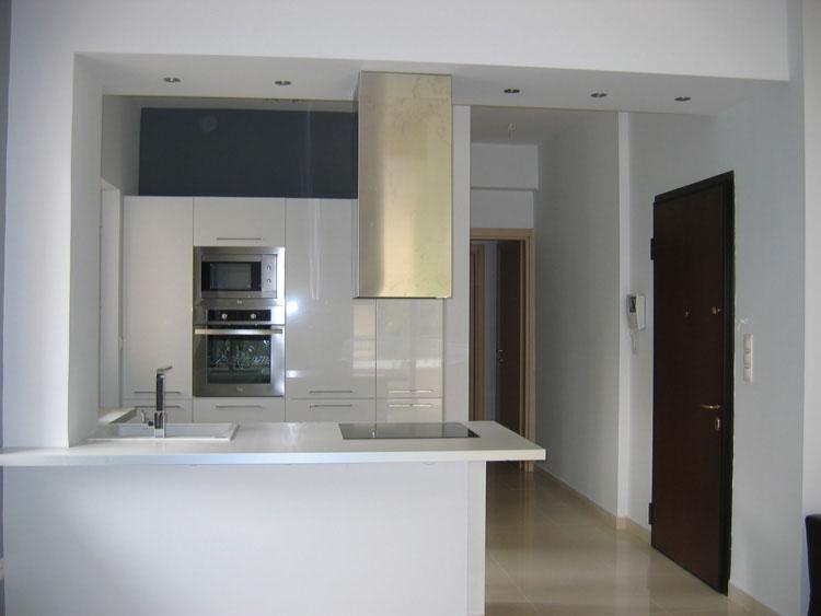 Μοντέρνα κουζίνα στο Χολαργό open space - Systema di Cucina ...