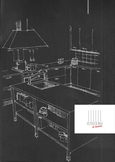 Σχέδιο κουζίνας- δημιουργίες μοναδικές επιπλα Systema di Cucina
