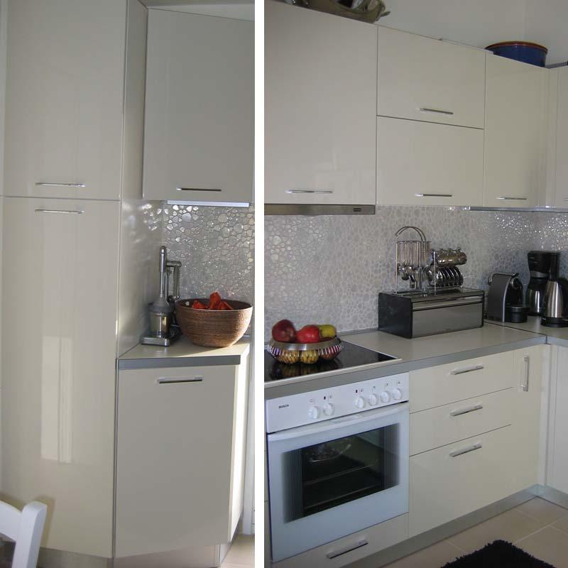 Ανακαίνιση κουζινας Chic style