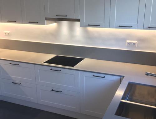 Λευκή κουζίνα – Ανακαίνιση