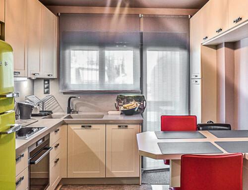 Ανακαίνιση μικρής Vintage κουζίνας
